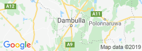 Dambulla map